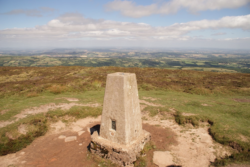 Finding Black Hill Trig Point