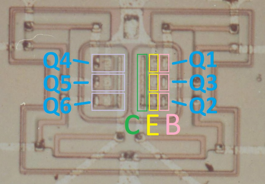 apollo NOR gate transistors